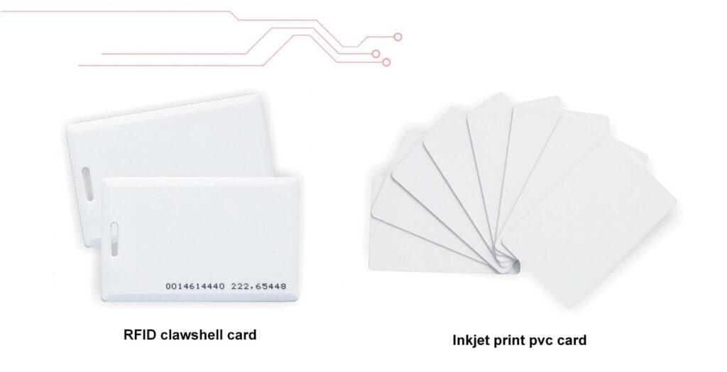 RFID clawshell-Inkjet print